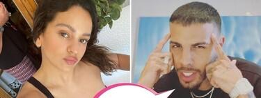 Las fotografías de Rosalía y Rauw Alejandro, agarrados de la mano, que desata los rumores de pareja: ¿y dónde queda Ester Expósito?