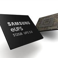 Samsung tiene lista la nueva memoria flash UFS 3.0 para smartphones: el doble de rápida y con capacidades de hasta 1TB