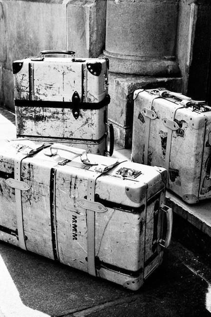 Amantes del viaje y del mundo de la moda llegan las maletas Maison Martin Margiela x Globe-Trotter