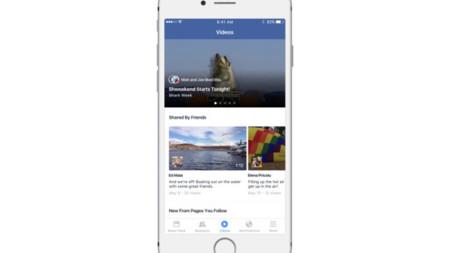 Facebook está probando una sección dedicada a los vídeos en su aplicación oficial