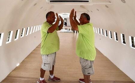 Conoce la historia de estos dos hermanos palestinos que lucharon por realizar su sueño de convertir un avión en un restaurante