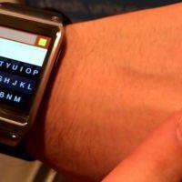 Fleksy, el teclado QWERTY llega al smartwatch Samsung Galaxy Gear