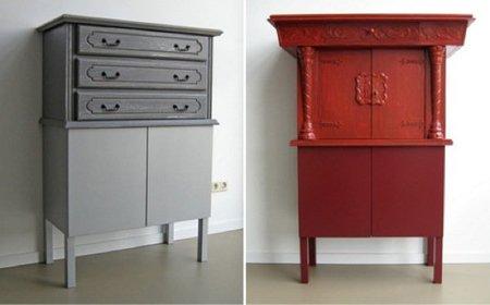 Oud now!, mezcla en sus muebles lo nuevo con lo antiguo