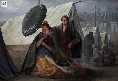 Cuatro emblemáticas obras del Museo del Prado se suman a la lucha contra el cambio climático