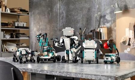 Los robots programables de Lego Mindstorms vuelven con fuerza: bípedos, cuadrúpedos y capaces de sortear obstáculos