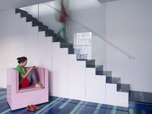 Foto de Una buena idea: una escalera arcoíris (5/7)