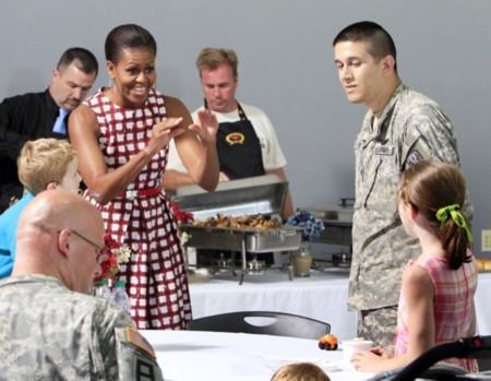 Jessica Alba y Michelle Obama enamoradas del mismo vestido... ¡de Asos!