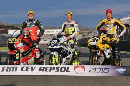 Campeones Fim Cev Repsol 2016