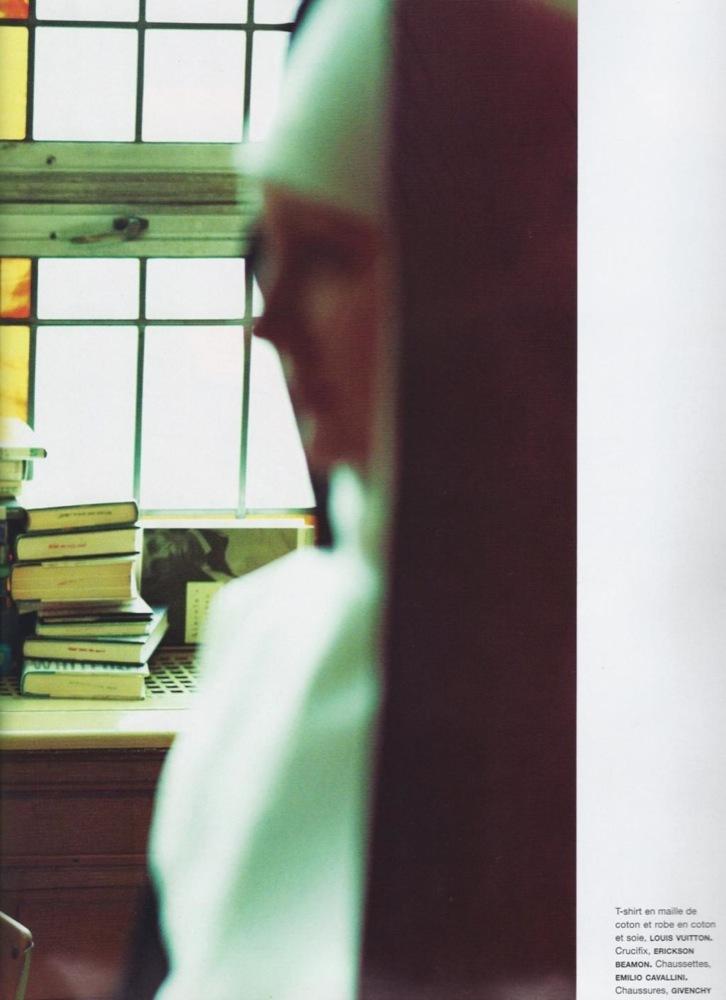 Foto de Miranda Kerr muy provocativa en el editorial de Numèro (6/15)