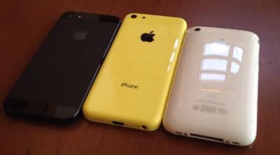 iPhone 5C y su carcasa de plástico, ahora en vídeo