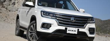 MG RX8, al volante de un SUV chino con alma todoterreno y espíritu familiar