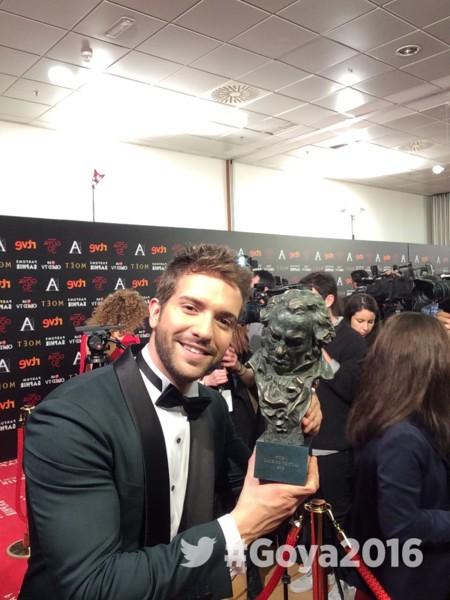 Y Pablo Alborán se lleva un Goya