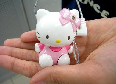 Reproductor MP3 de Hello Kitty