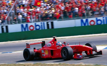 Mika Salo GP Alemania 1999