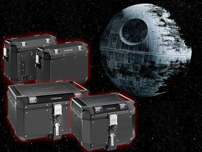 Pasate al lado oscuro de la fuerza con las maletas Kappa K-Venture Black