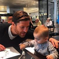 Marchando una de papás futbolistas de lo más adorables