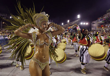 Carnaval de Rio de Janeiro 2009: la escola ganadora