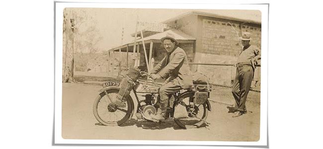 Velocette CG3 de 1922