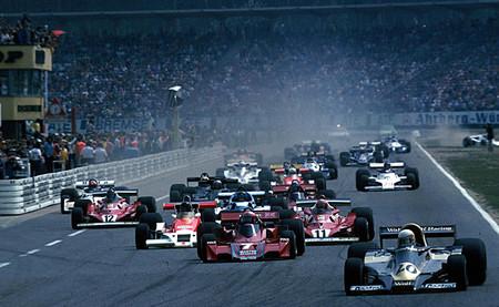Salida GP Alemania 1977