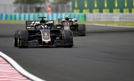 Grosjean Hungria F1 2019