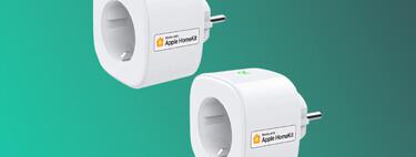 Oferta flash en Amazon del pack de dos enchufes Wi-Fi compatibles con HomeKit a 29,59 euros, rozando su precio mínimo histórico