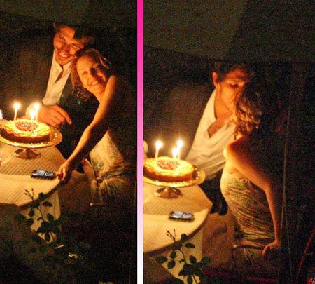 Kylie Minogue celebra el cumpleaños con Andrés Velencoso