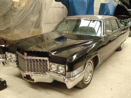 El Cadillac Fleetwood Brougham de Franco a la venta