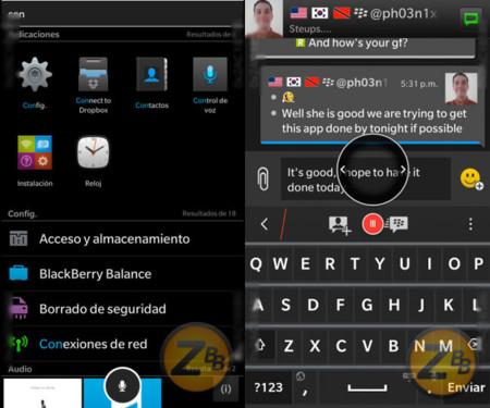 Blackberry 10.3 leak