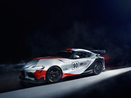 Toyota GR Supra GT4 concept: La versión de carreras que representará a la marca en el mundo motor