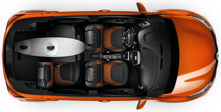Renault Captur 2013, vista interior