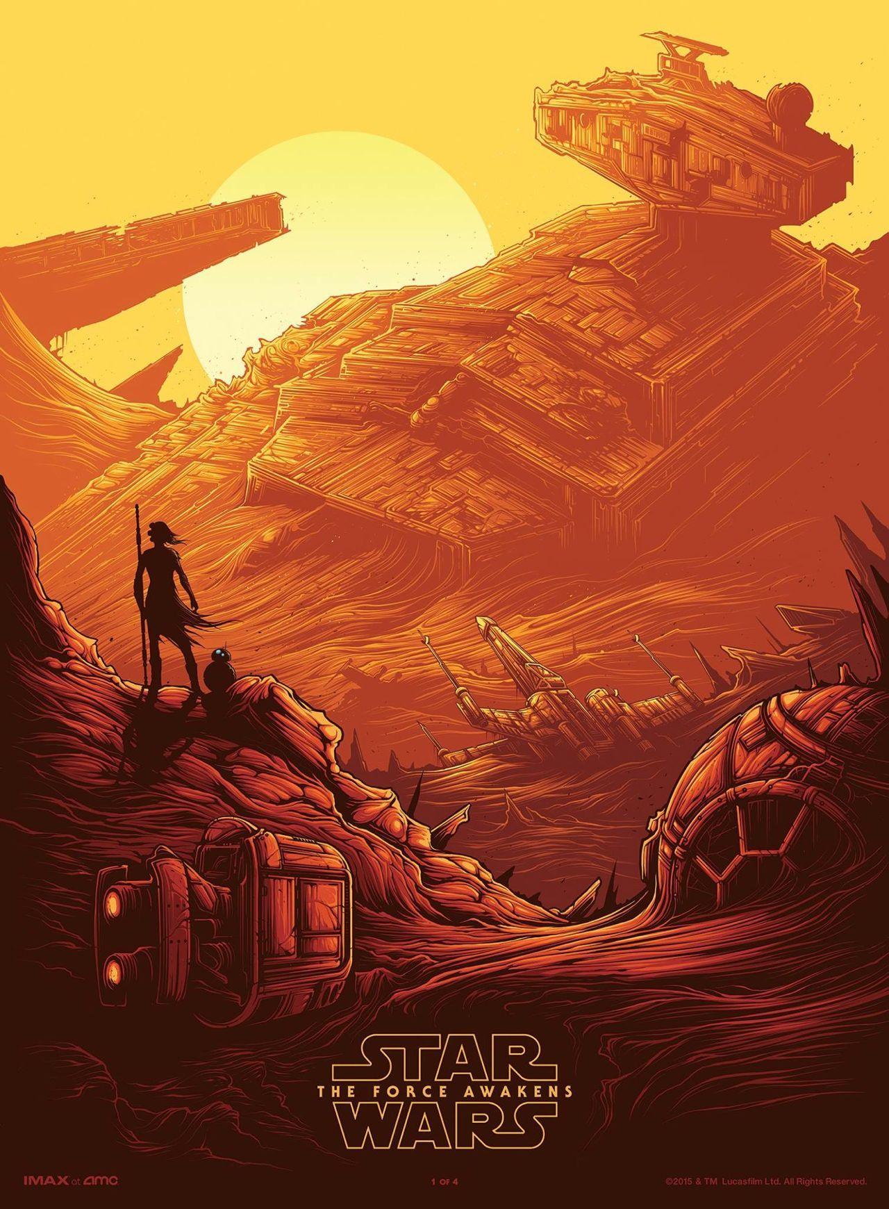 Foto de 'Star Wars: El despertar de la fuerza', todos los carteles del Episodio VII (4/18)