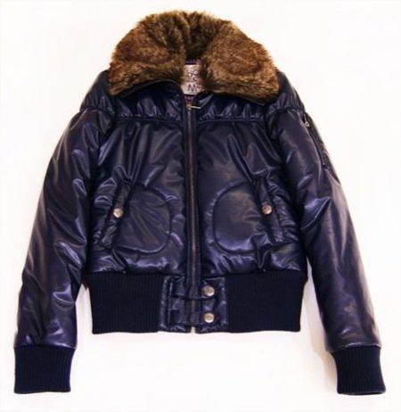 Bershka, abrigo azul