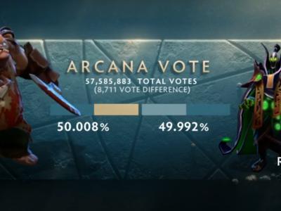 Pudge le gana la Arcana a Rubick en una votación más reñida que nunca