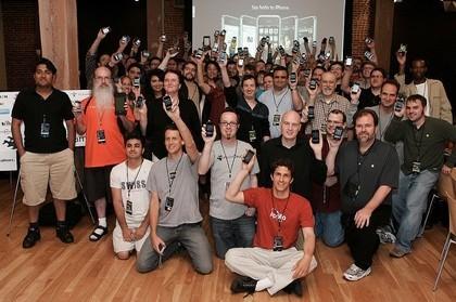 iPhoneDevCamp: Concentración de usuarios y desarrolladores del iPhone