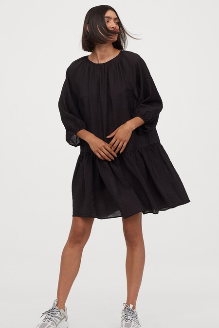 Vestido Negro Hm