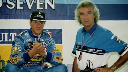 Briatore Schumacher Benetton