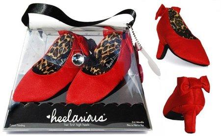 Heelarius, los primeros tacones del bebé