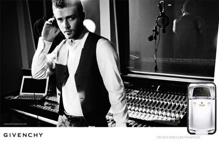 Primeras imágenes de Justin Timberlake para Givenchy