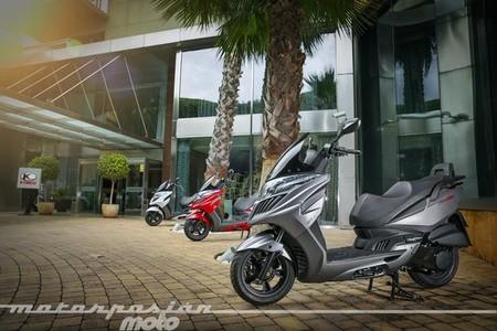 Kymco eleva un 6,6% sus ventas de motos en España