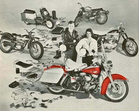 Harley-Davidson 1956