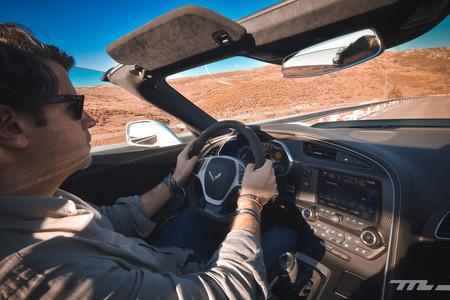 Corvette Z06 Prueba interior