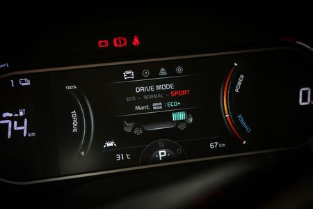 Kia e-Soul 2019 modos conducción