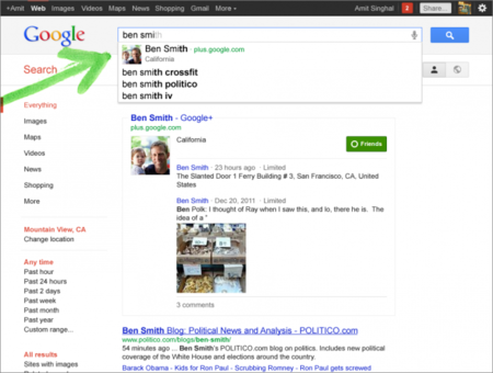 Google Plus Profiles