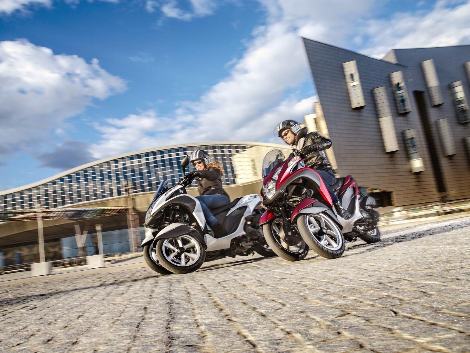 Foto de Yamaha Tricity 125 cc acción (1/21)