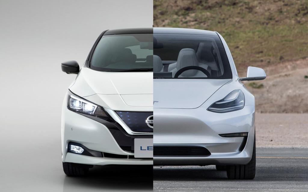 Nissanleaf Teslamodel3 2