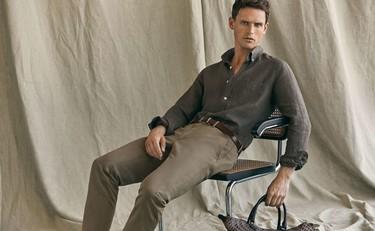 No busques más, el traje perfecto de verano es de lino y lo tiene Massimo Dutti
