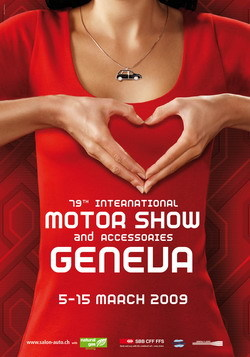 Salón del Automóvil de Ginebra 2009, fechas y cartel