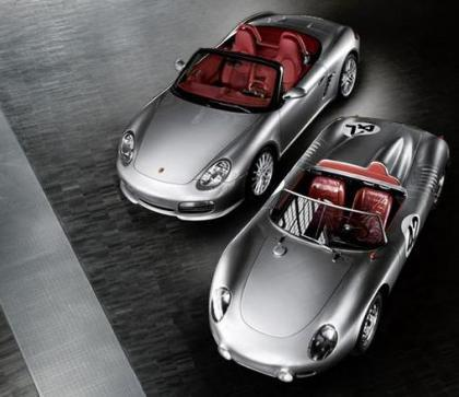 Porsche Type 718 RS 60 Spyder y el nuevo Boxter