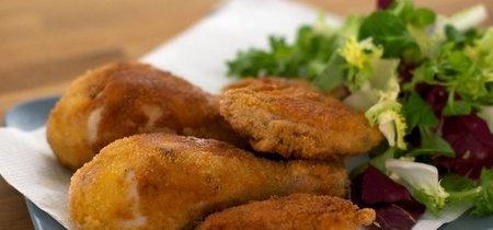 Receta de pollo frito al estilo vienés
