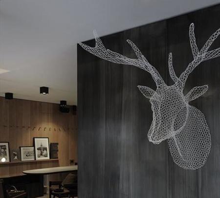 Cabeza de ciervo, Hotel Eden Bormio